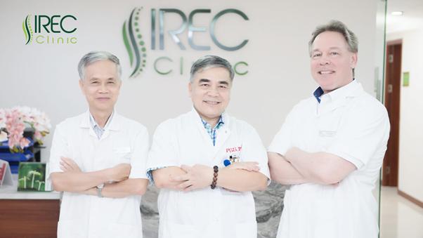 Các bác sĩ nhiều năm kinh nghiệm tại IREC