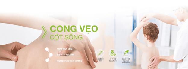 IREC điều trị bệnh cong vẹo cột sống hàng đầu tại Việt Nam