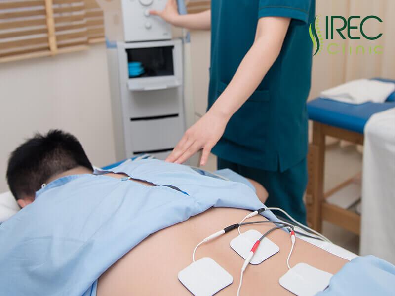 IREC sử dụng các thiết bị điều trị hiện đại