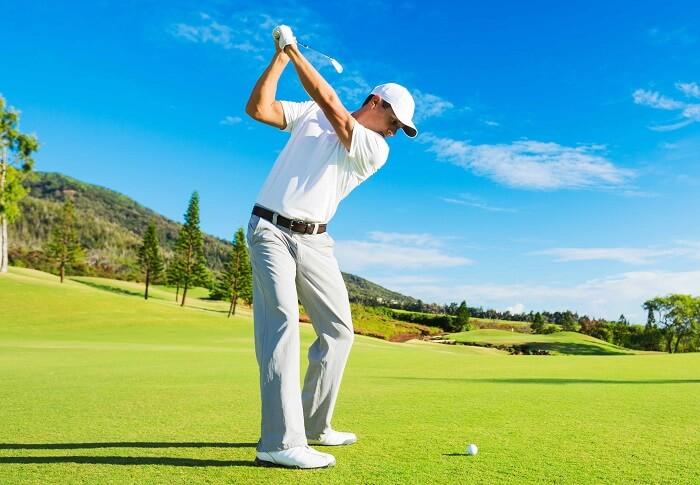 Những chấn thương thường gặp khi chơi golf