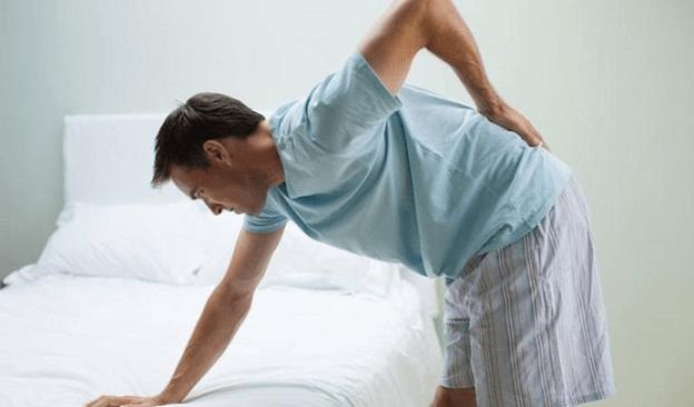 Thoái hoá đốt sống lưng gây ra nhiều cơn đau dữ dội