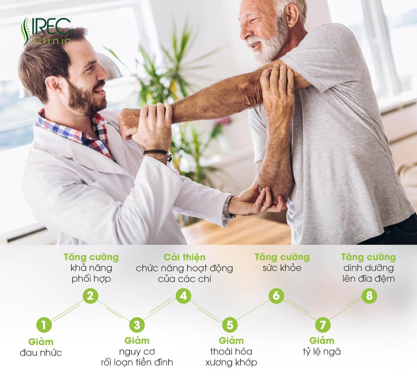 vận động trị liệu ở người lớn tuổi