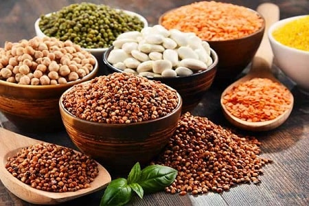 Các hạt ngũ cốc