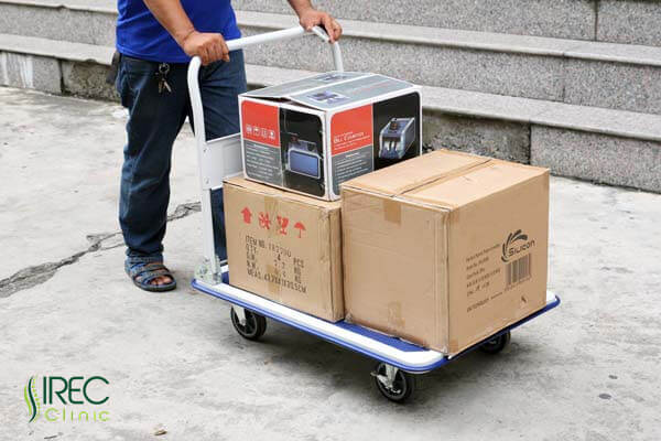 Nên di chuyển đồ nặng bằng cách đẩy hơn là kéo