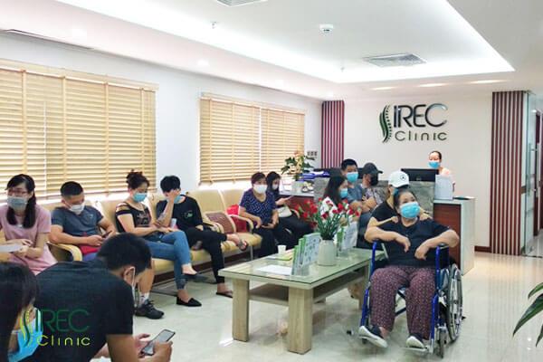 Quy trình thăm khám - điều trị chuyên nghiệp tại phòng khám IREC CLinic